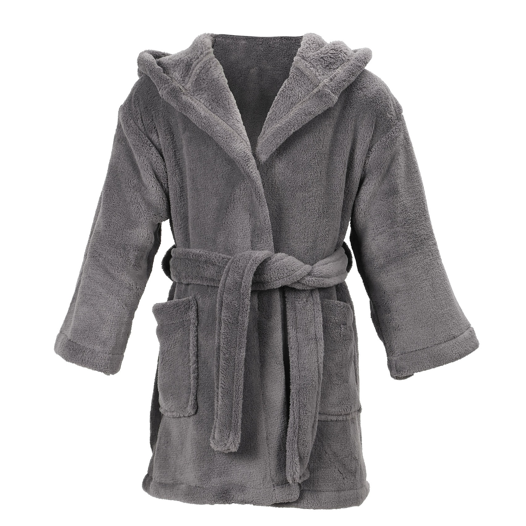 Shop Simplicity Children s Hooded Plush Velvet Robe with Pockets - Free  Shipping On Orders Over  45 - McAoo.com - 18128583 94970291c