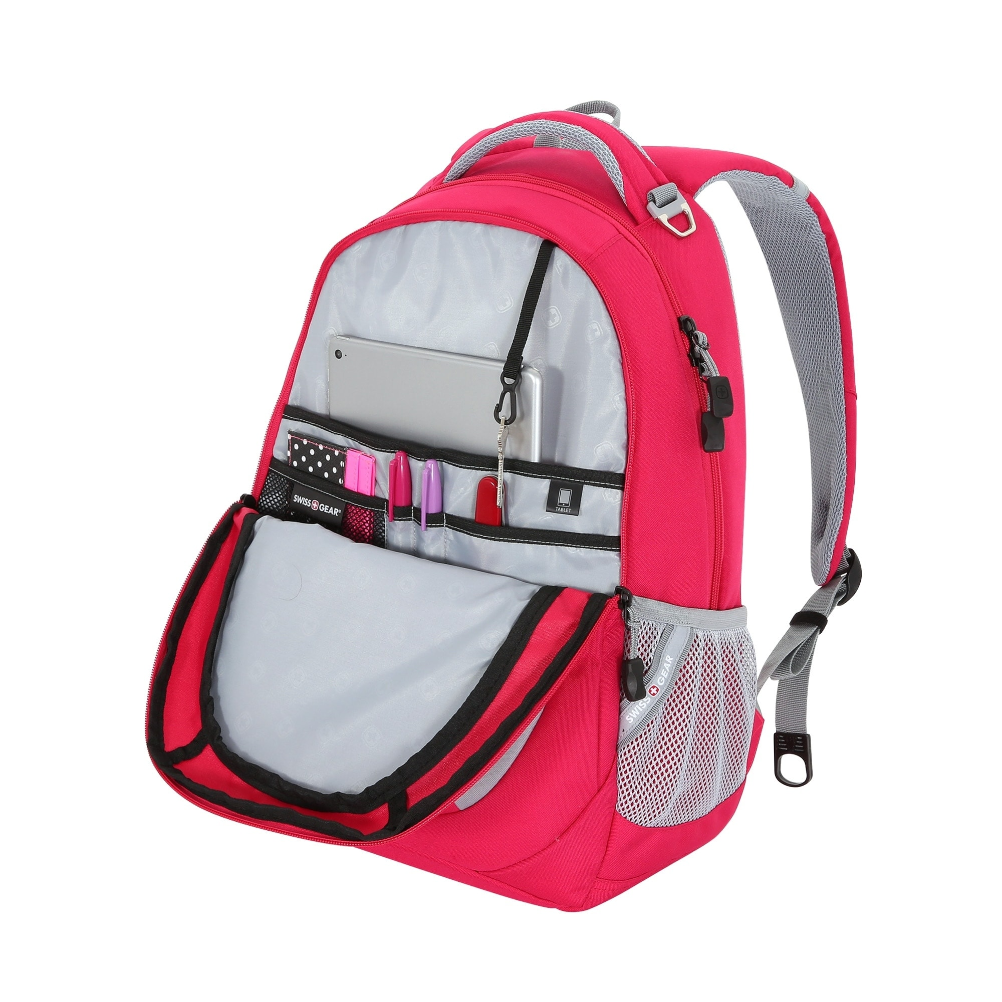 dbd1f77792 Shop SwissGear Cranberry - Urban Heather 18 inch Laptop Backpack - Free  Shipping Today - McAoo - 20248274