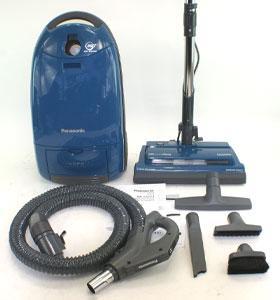 Hepa Panasonic Canister Vacuum 11485058 Overstock Com