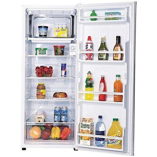 Apartment Fridge: Sanyo 9.5-cubic-foot Apartment-size Refrigerator