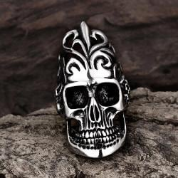 Vienna Jewelry The Burning Man Stainless Steel Ring - Thumbnail 0