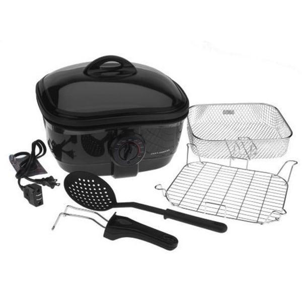 Cooks Essentials 2 5qt 8 In 1 Nonstick Deep Fryer And