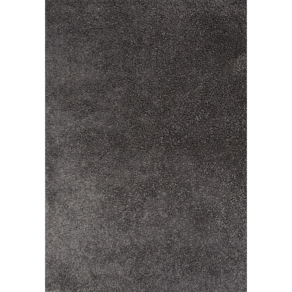 Shag Solid Pattern Grey Gray 5x7 6 Area Rug Overstock