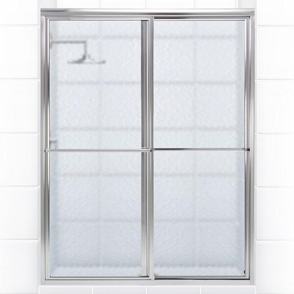 Newport Series 58 In X 58 In Framed Sliding Tub Door