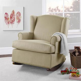 Baby Relax Colby Dark Taupe Swivel Glider 16277084