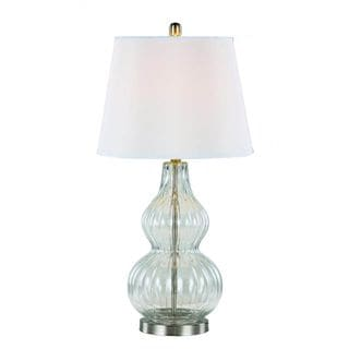 Earring Standing Table Lamp 14981095 Overstock Com