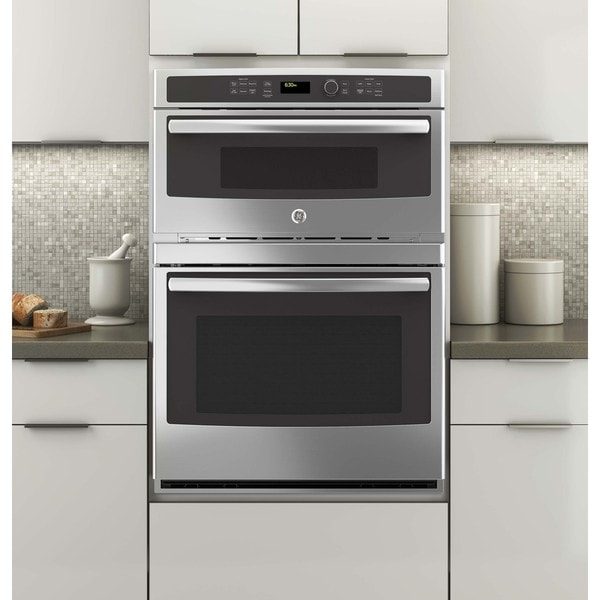 Ge Profile 30 Inch Combination Wall Oven Microwave