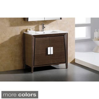 Fine Fixtures Milan 15 Inch Vanity With Vitreous China