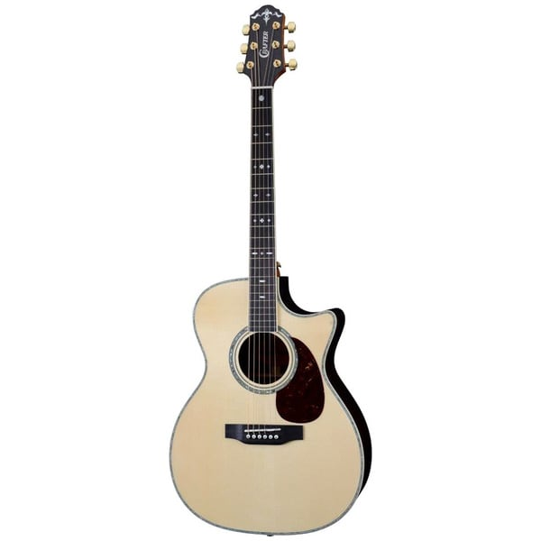 crafter tco 35 electric acoustic guitar with built in tuner and gig bag 17180222 overstock. Black Bedroom Furniture Sets. Home Design Ideas