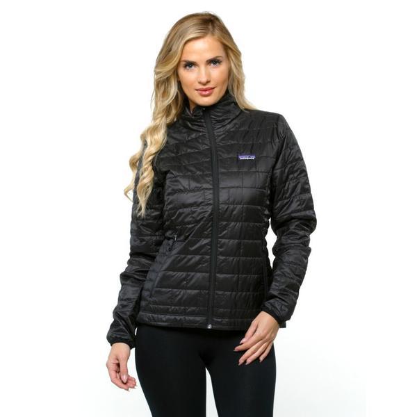 Patagonia Women S Nano Puff Black Jacket 17181293