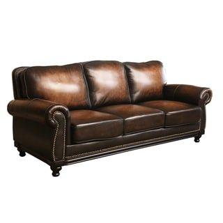 Leather Sofas Couches Amp Loveseats Overstock Com