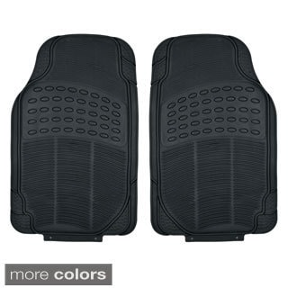 Heavy Duty All Weather Universal Fit Beige Floor Mats For