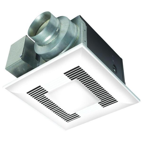 Whisper Lite Bath Fan 110 cfm Light Combo