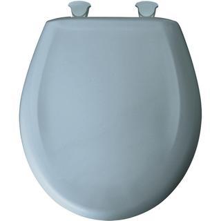 Cobalt Blue Molded Wood Solid Toilet Seat 11525369