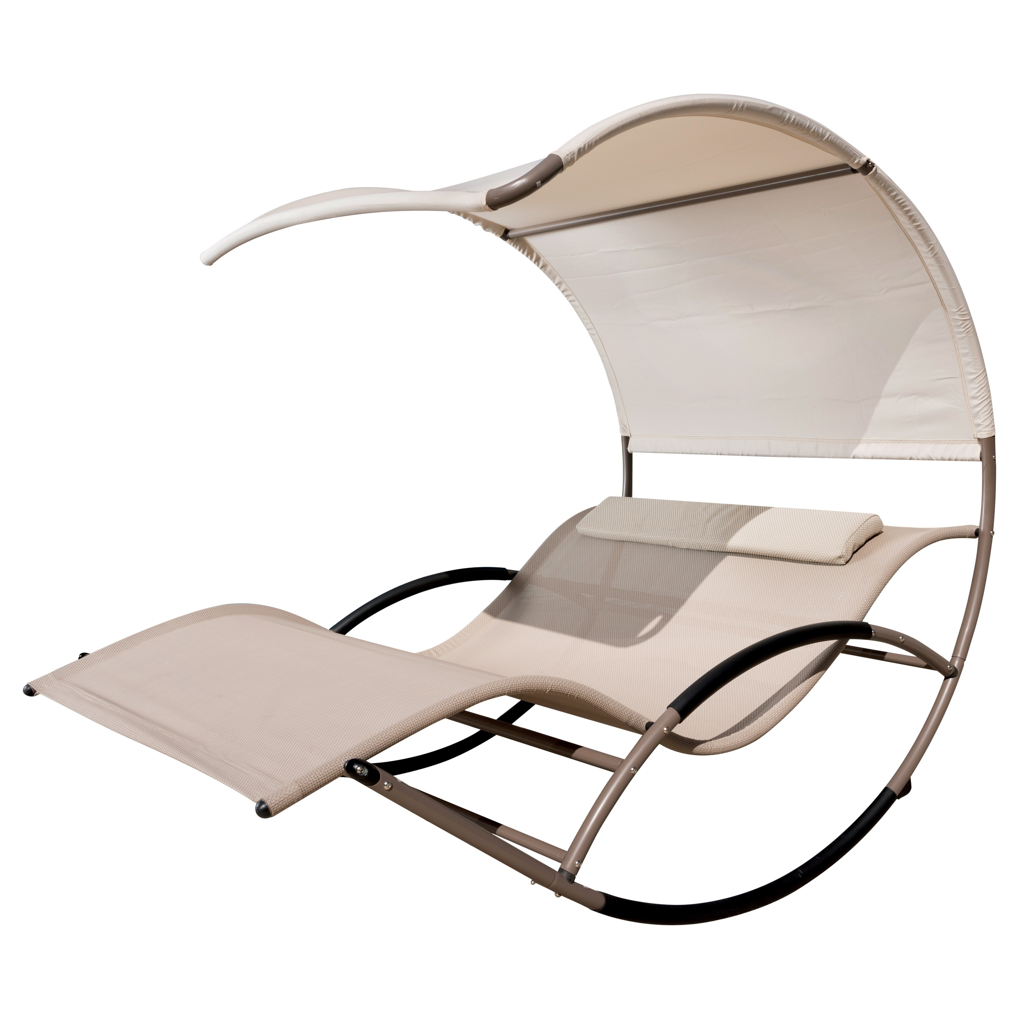 Double Rocking Chaise Lounge By Rst Brands Overstock