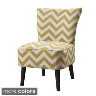 Quilted Mustard Yellow Upholstery Armless Chair 15347671