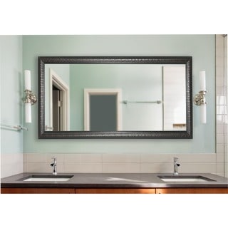 American Made Rayne Extra Large Solid Black Angle Mirror 17211957 Overstock Com Shopping