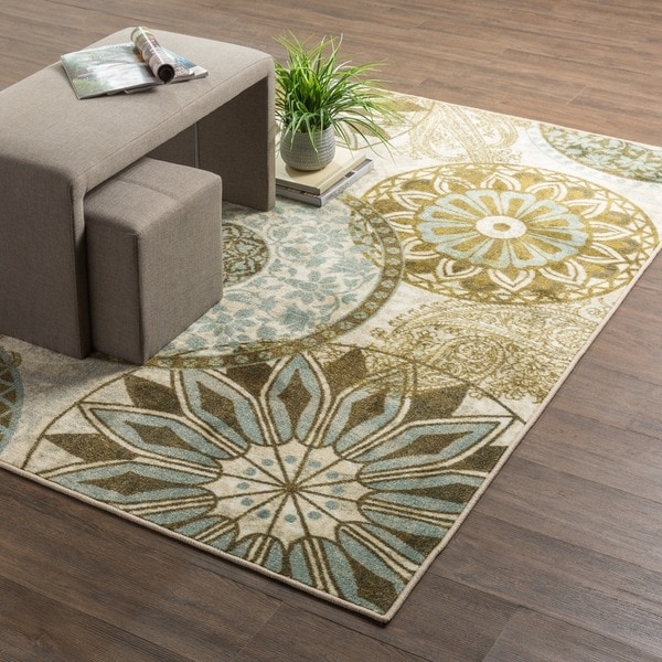 Mohawk Home New Wave Inspired India Printed Rug 8 X 10