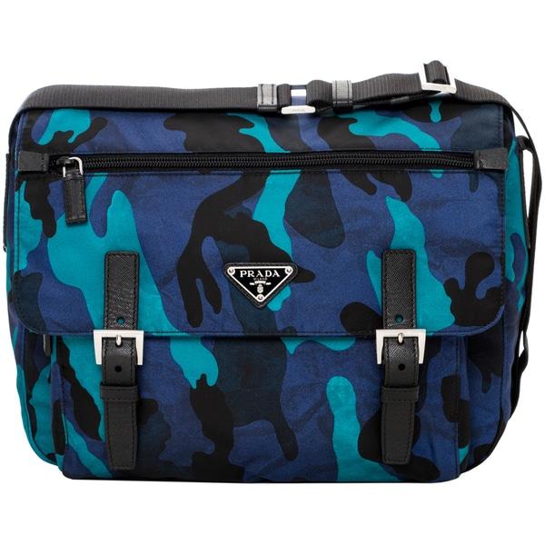 Prada Tessuto Camouflage Fringe Hobo, Prada Replica Bag