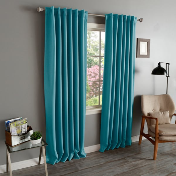 Lights Out Solid Insulated Thermal Blackout Curtains Panel