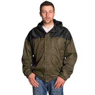 Mossi Black/ Green Excursion Rain Jacket