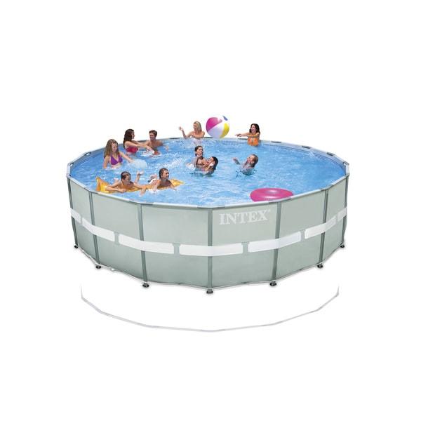 Intex 18 Foot By 52 Inch Ultra Frame Pool 17233341