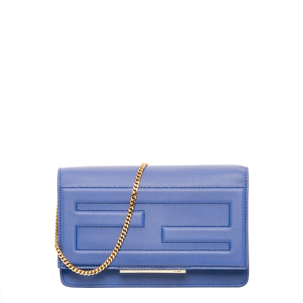 261e4afaee fendi leather clutch