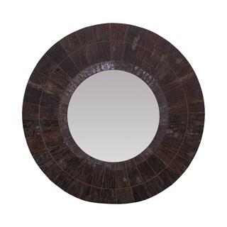 Uttermost Jeremiah Round Wood Mirror 16275924