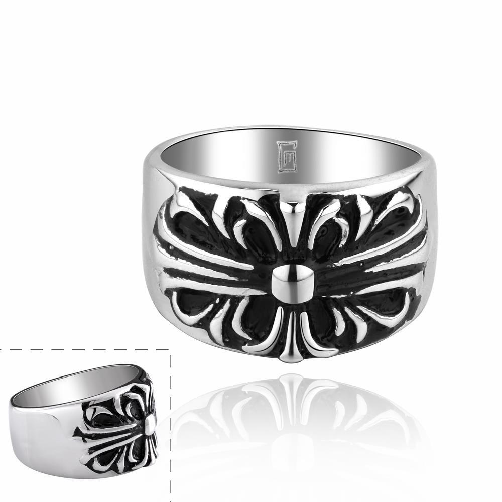 Vienna Jewelry Celtic Inspired Emblem Ring