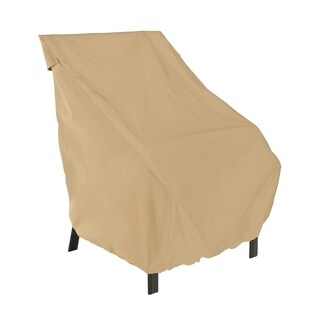 Sure Fit Taupe Patio Chair Cover 14695229 Overstock