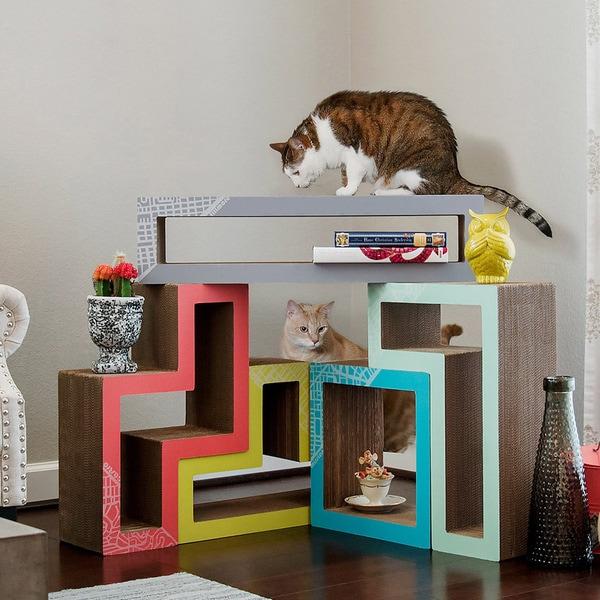 Katris Cat Scratcher System Amp Blocks Cat Tree Condo