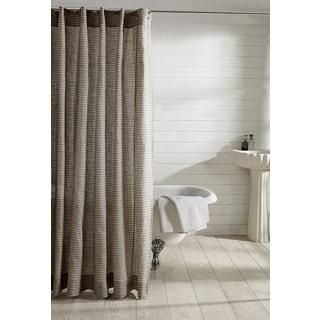 Lush Decor Mia Green Brown Shower Curtain 14907703
