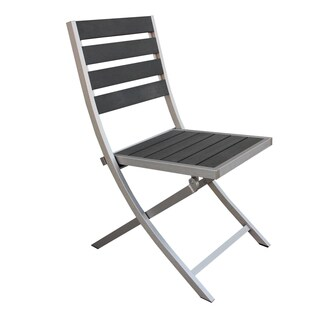 Fresca Polylumber Outdoor Folding Chairs (Set of 2)