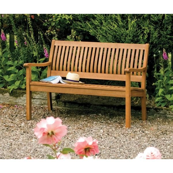 English Garden 48 Inch Wooden Bench 17257028 Overstock