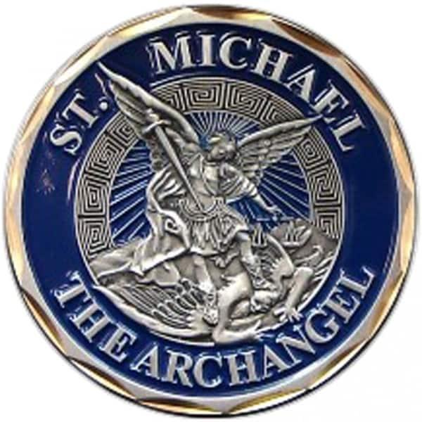 St Michael The Archangel Challenge Coin 17258477