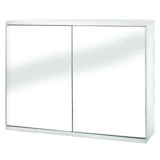 design house 530568 richland 30 inch 3 door nutmeg oak tri White Bathroom Wall Cabinets Wall Bar Cabinet