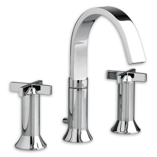 Chrome Polished Brass Widespread Bathroom Faucet