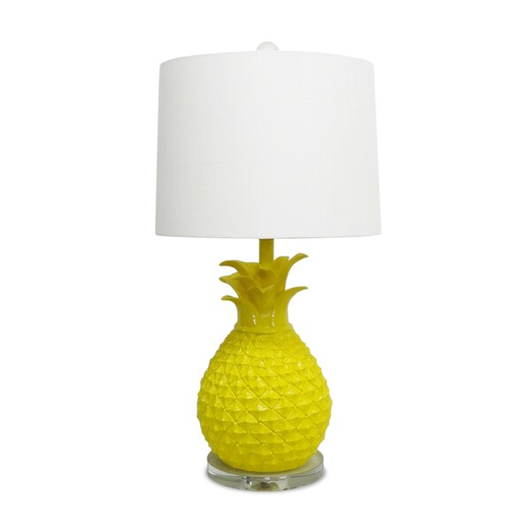 Yellow Pineapple Table Lamp 17275102 Overstock Com Shopping Great Deals On Table Lamps