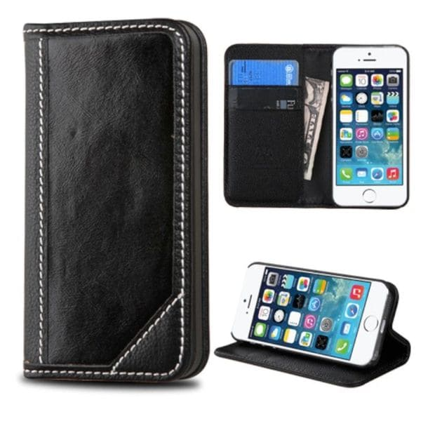 Insten Leather Wallet Flap Pouch Phone Case Cover With