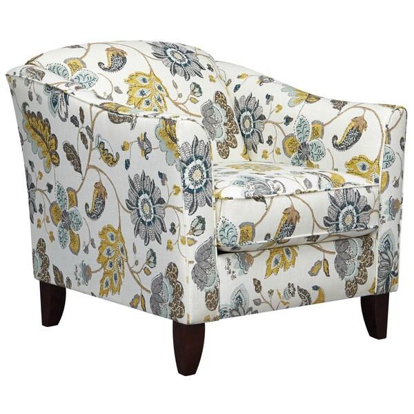 Art Van Accent Chair Floral