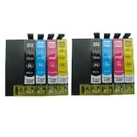 8-pack Replacing T252XL Ink Cartridge for Epson WF-3620 WF-3640 WF-7110 WF-7610 WF-7620 Printer
