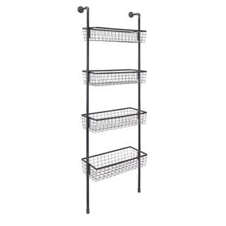 Truman Wall Four-Basket Shelf