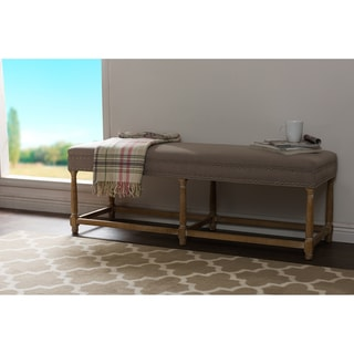Elements Upholstered Dining Bench Overstock Shopping