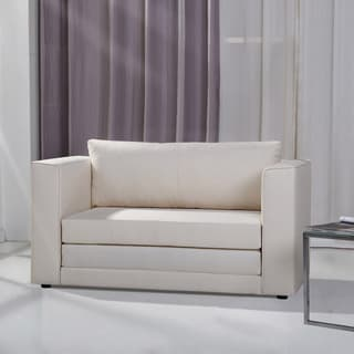 Upton Home Jackson Gray Upholstered Sleeper Chair With