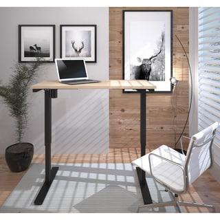 Bestar Prestige L Desk Including Electric Height