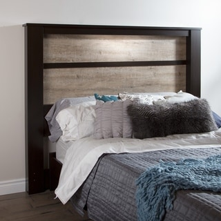 Scandinavia Solid Bamboo Wood Bookcase Headboard