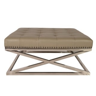 Signature Designs Royal Modern Stainless Steel Tufted