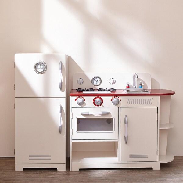 Large Play Kitchen: Teamson Kids Classic White Play Kitchen