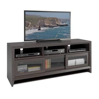 Corliving Lakewood Modern Wenge Finish Extra Wide Tv Bench