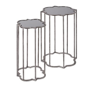 Uttermost Baina Silver Accent Table 15282621 Overstock